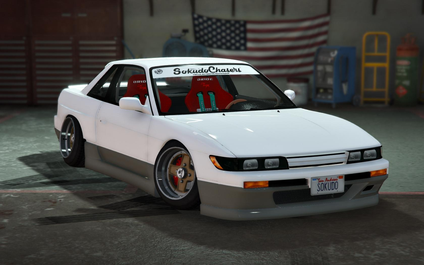 S13 Nissan Silvia S13 Stance Add On Replace Gta5 Mods