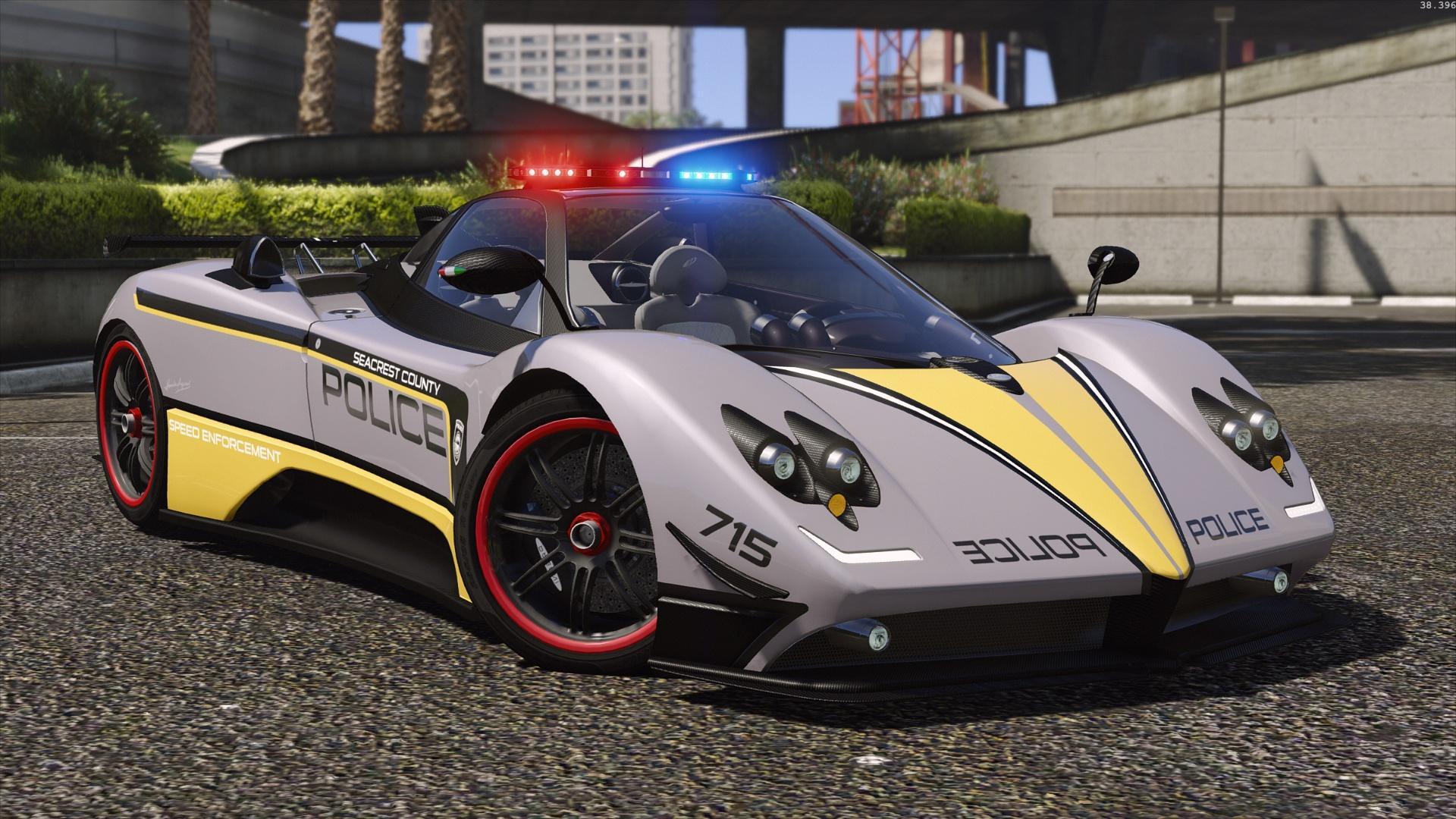 Ferrari Car Wallpaper Download Pagani Zonda Tricolore Hot Pursuit Police Add On