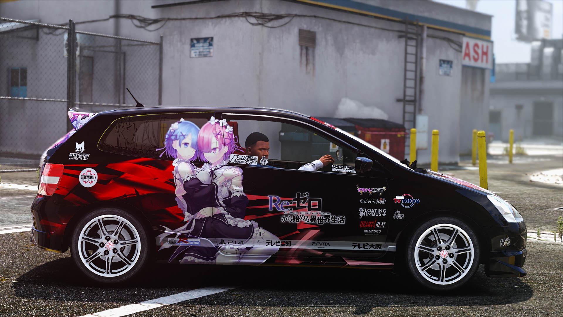 Fate Zero Wallpaper Hd Rezero Civic Ep3 Itasha Gta5 Mods Com