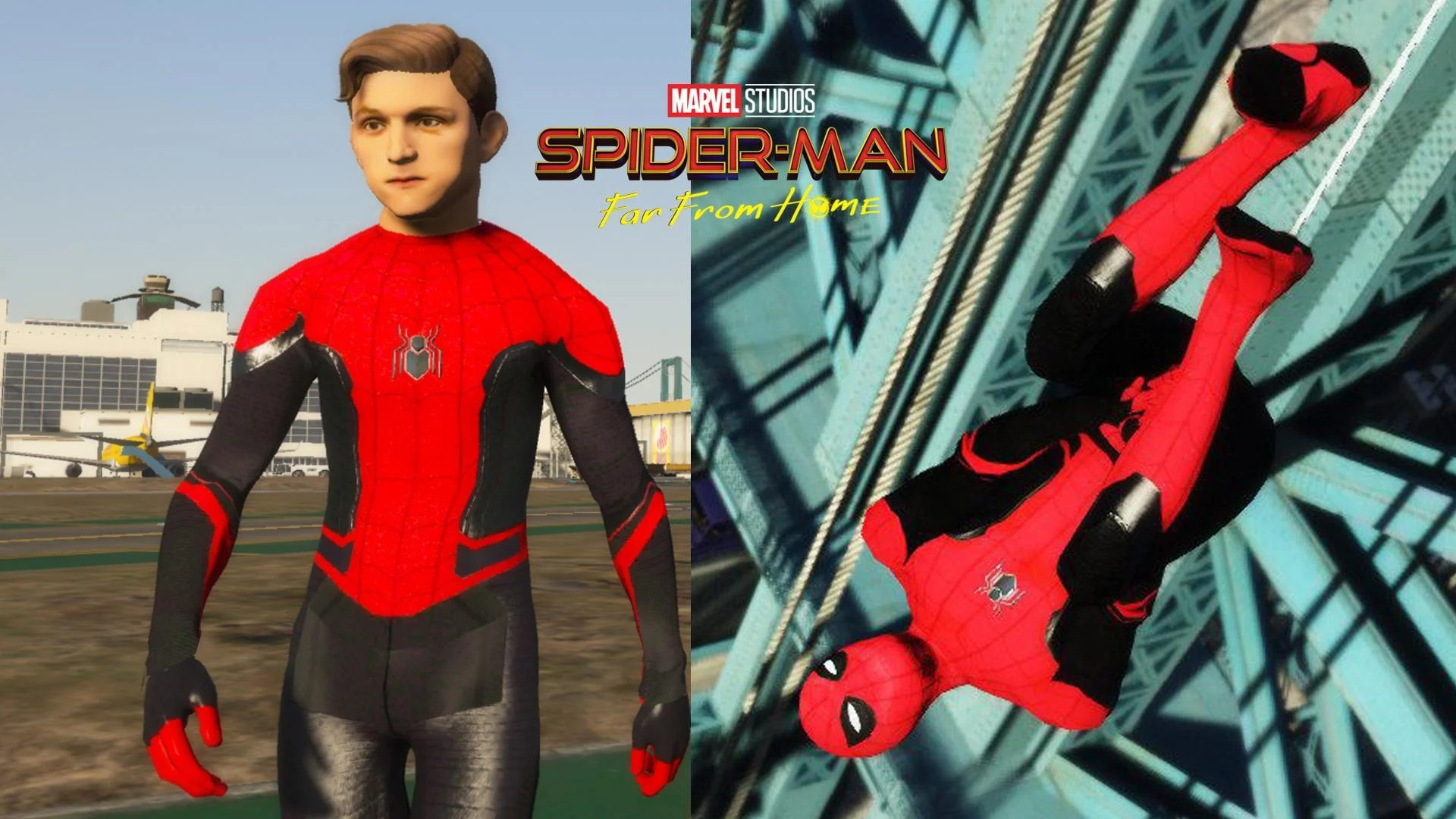 Gta 5 Cheats Ps4 Nederlands Spider-man Far From Home (tom Holland) - Gta5-mods.com
