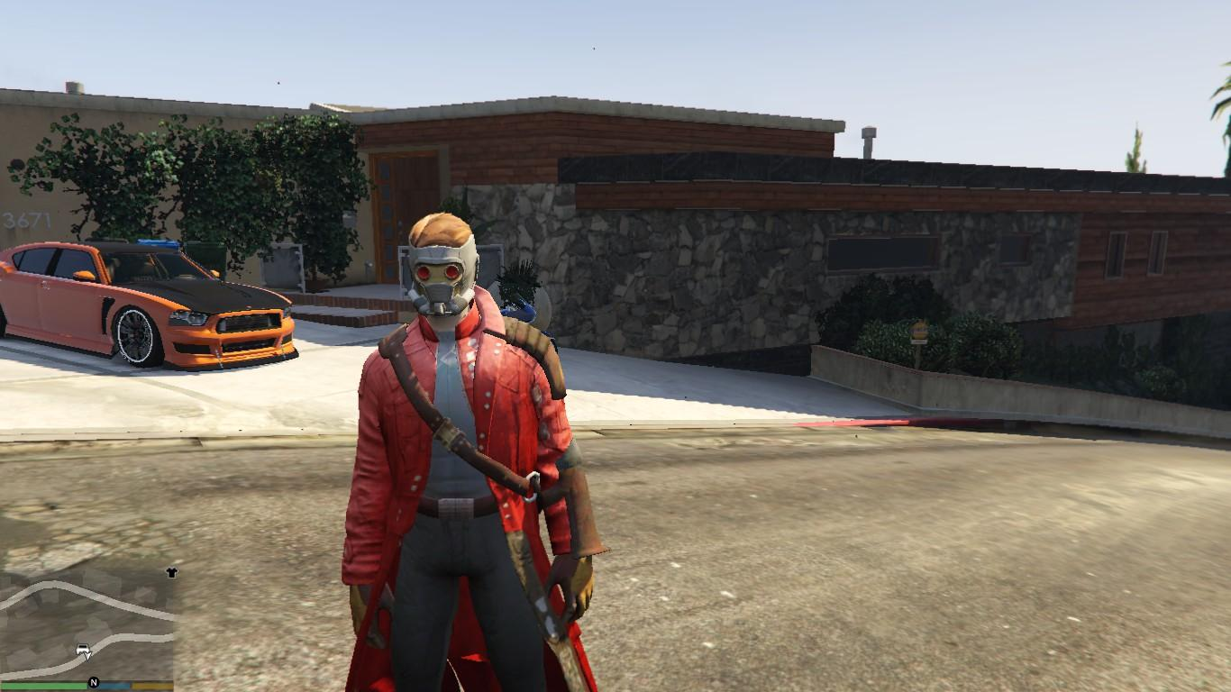 Gta 5 Cheats Ps4 Nederlands Star-lord (movie) [add-on-ped] - Gta5-mods.com