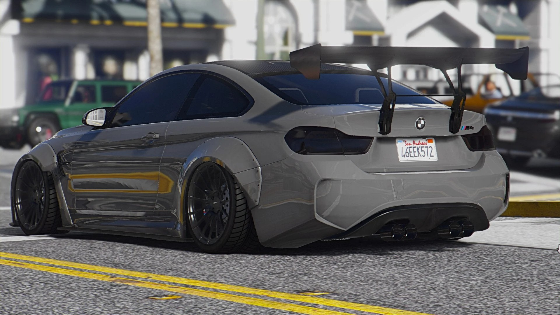 Gta Car Wallpaper 2015 Bmw F82 M4 Add On Tuning Bodykits Gta5 Mods Com