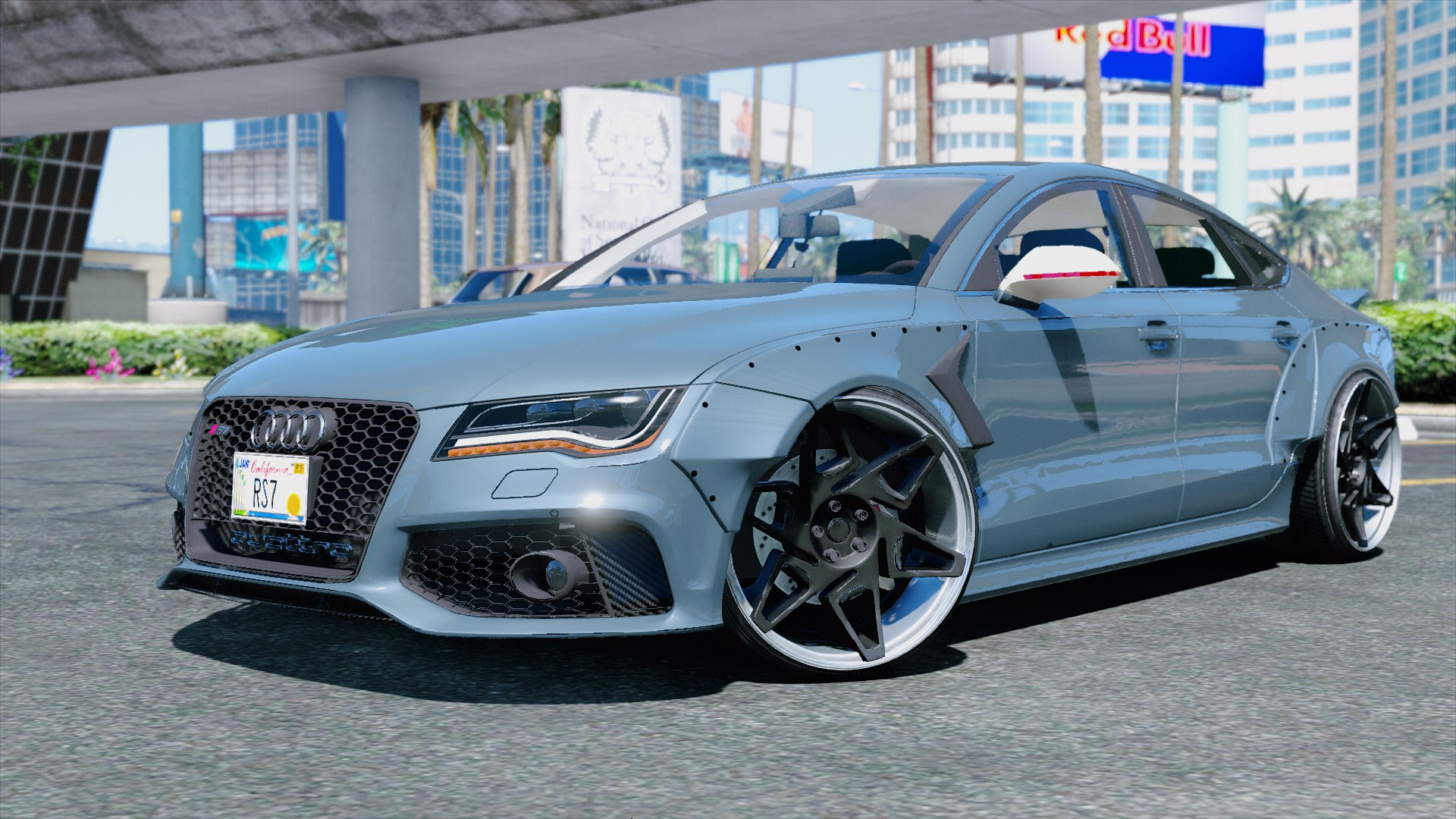 Gta Car Wallpaper Audi Rs7 X Uk Gta5 Mods Com