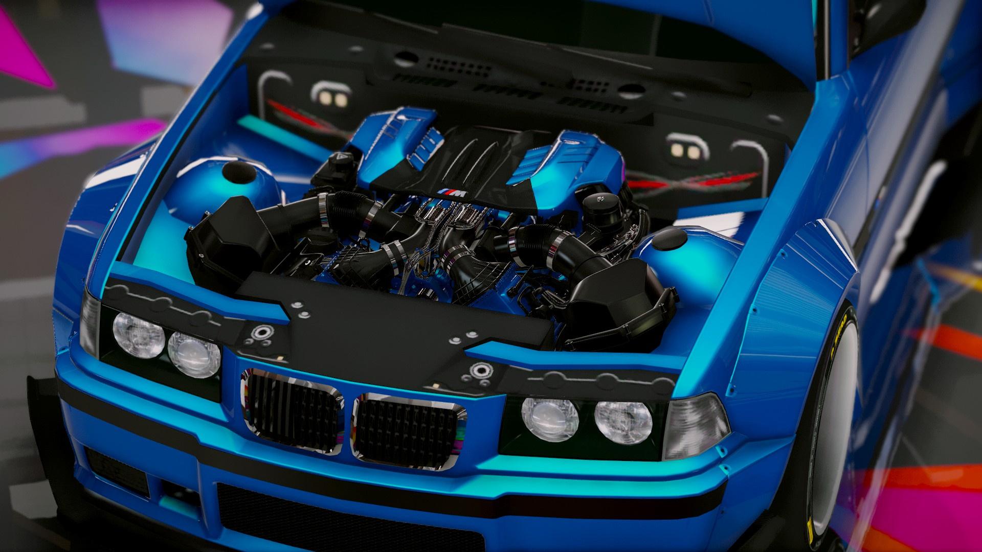 Tuner Car Wallpaper Hd Bmw M3 E36 Rocket Bunny Add On Tuning Gta5 Mods Com