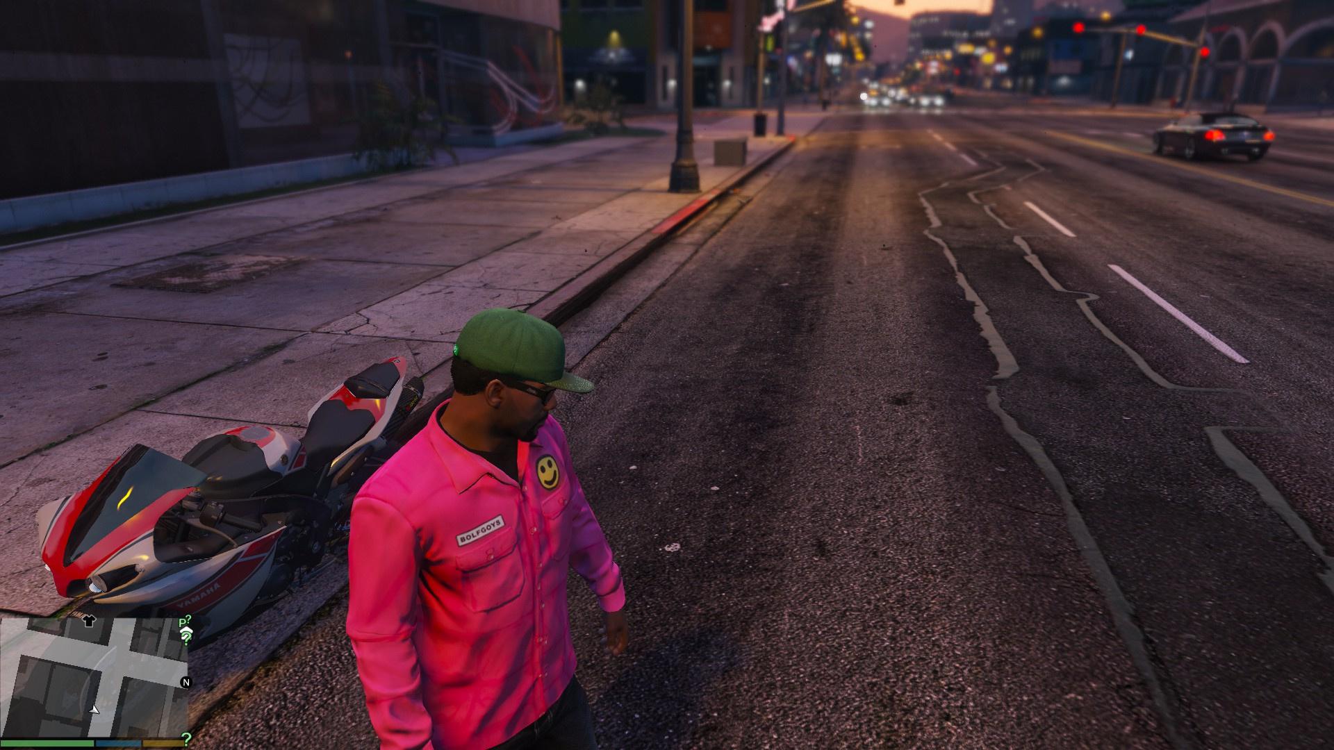 3d Cheetah Wallpaper Bolf Goys Nylon Spring Slim Fit Jacket Pink Golf Wang
