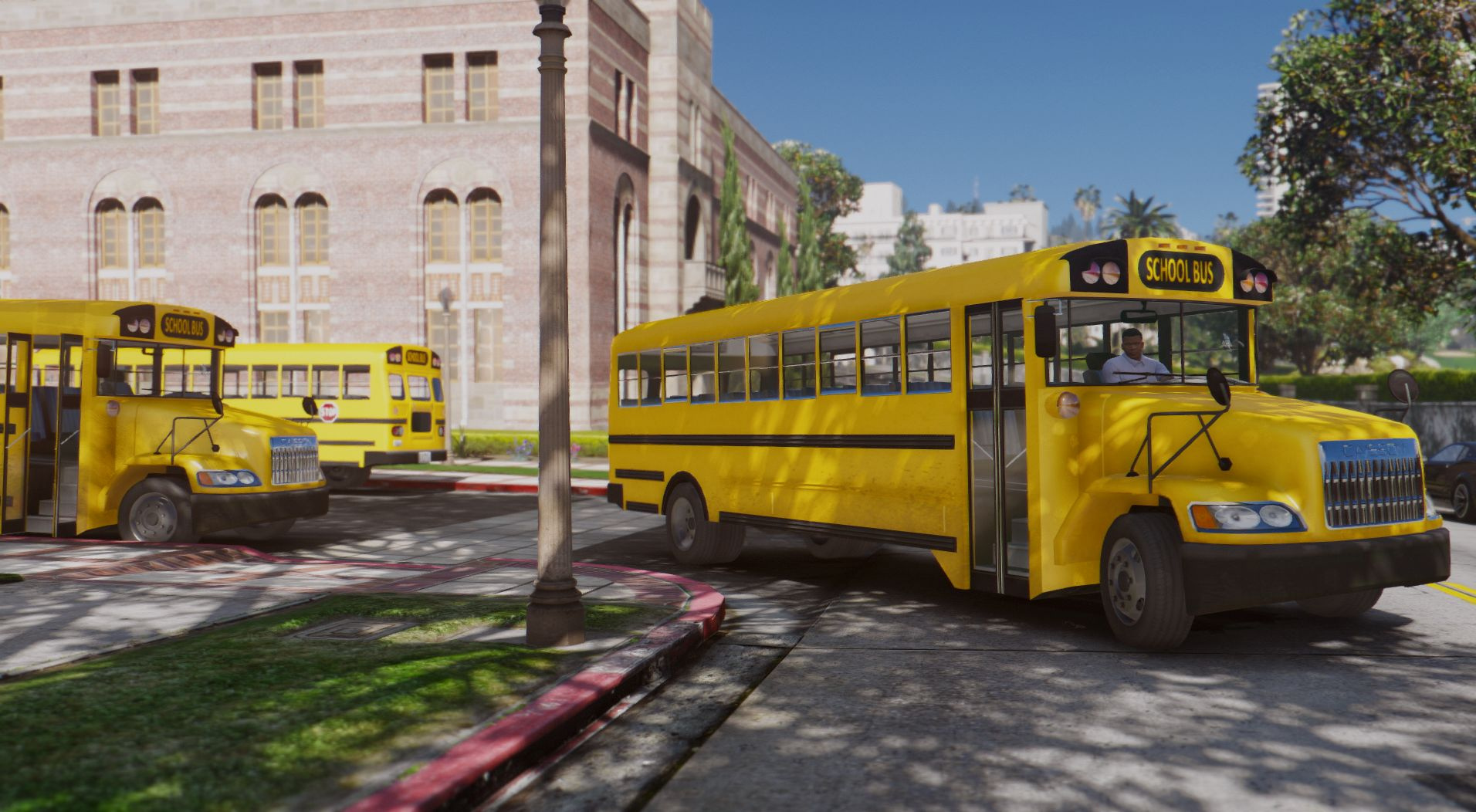 Caisson Pc Caisson Elementary C School Bus [add-on / Replace | Wipers