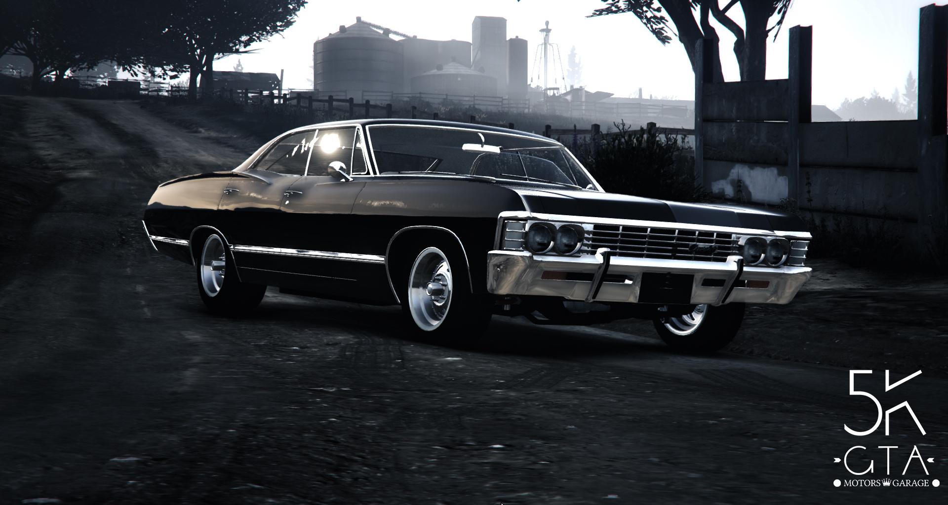 Grand Theft Auto 5 Car Wallpaper Chevrolet Impala 67 Gta5 Mods Com