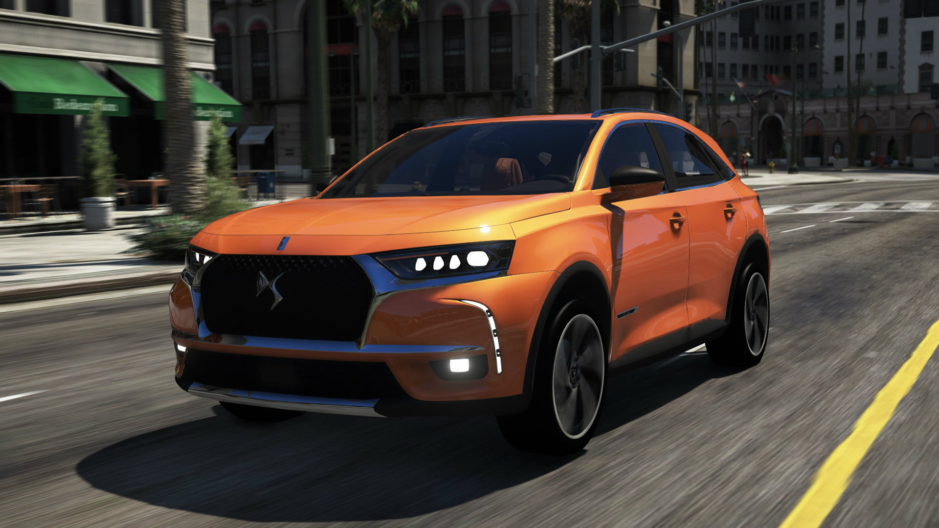 Citroen Ds7 Citroën Ds7 Crossback 2018 Opera Edition Add On Gta5 Mods