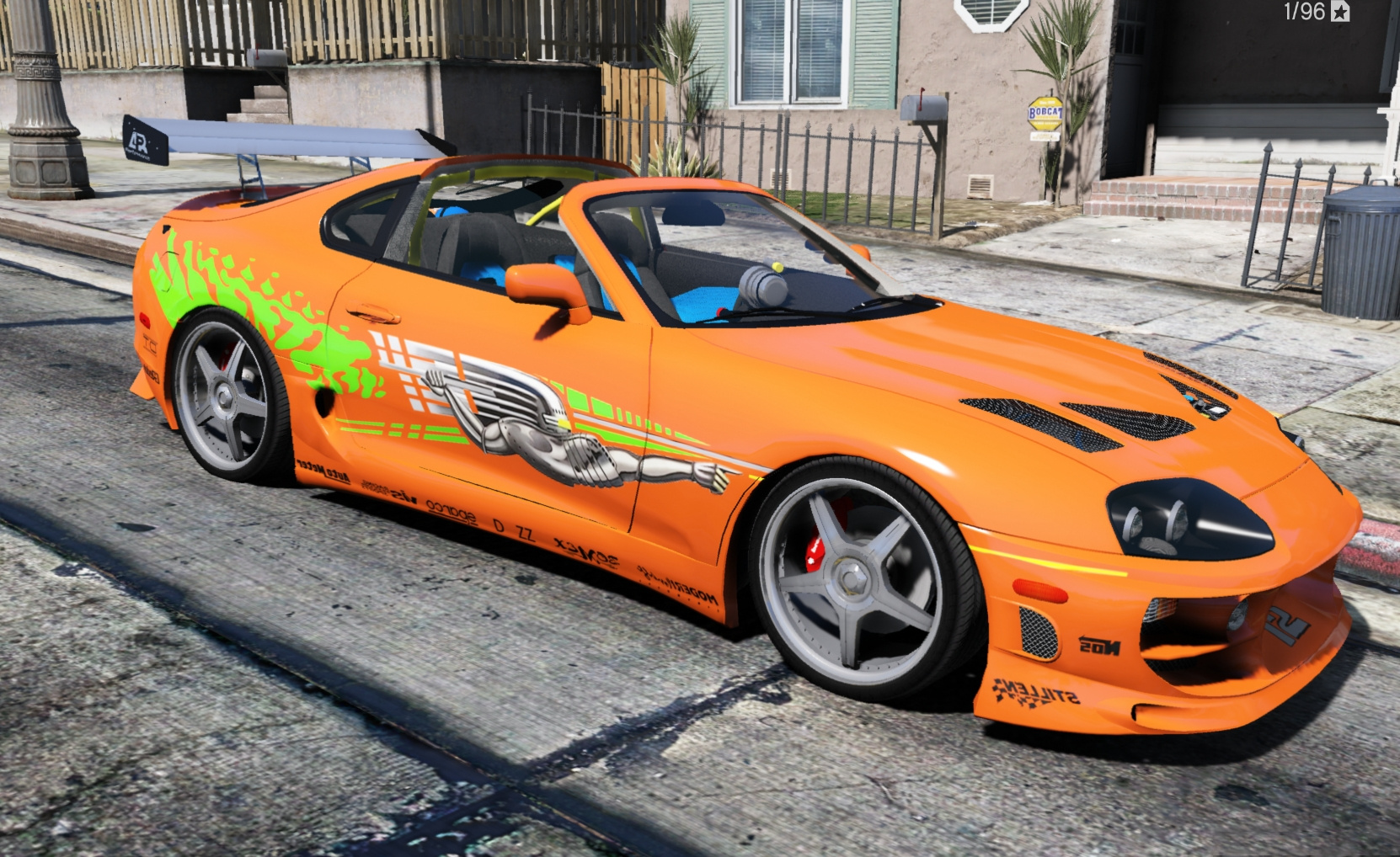 Toyota Supra From The Fast And The Furious Fast And Furious Toyota Supra Livery Gta5 Mods