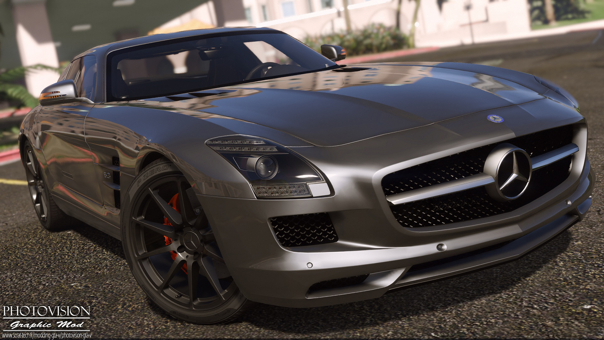 Mercedes - Benz Sls Amg Mercedes Benz Sls Amg Autovista Add On Replace
