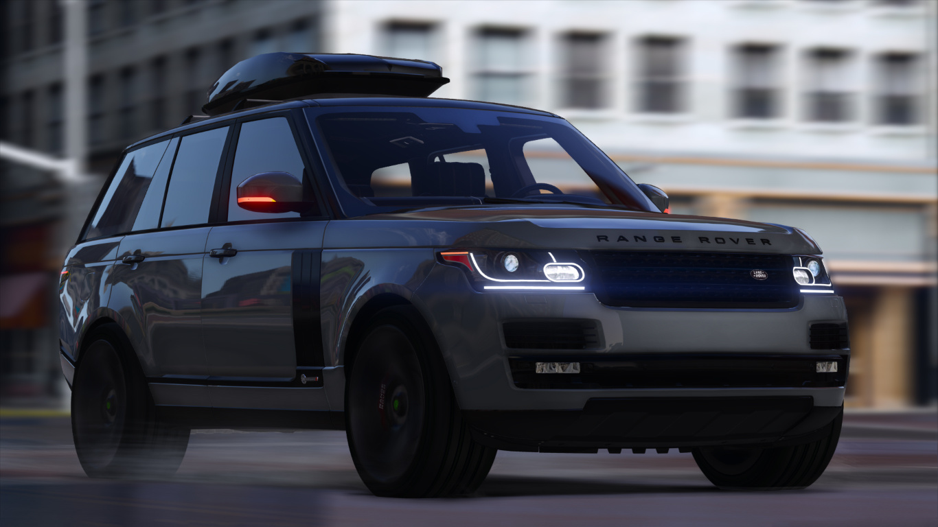 Range Rover Car Hd Wallpaper Download Range Rover Svautobiography Dynamic 2017 Add On Replace