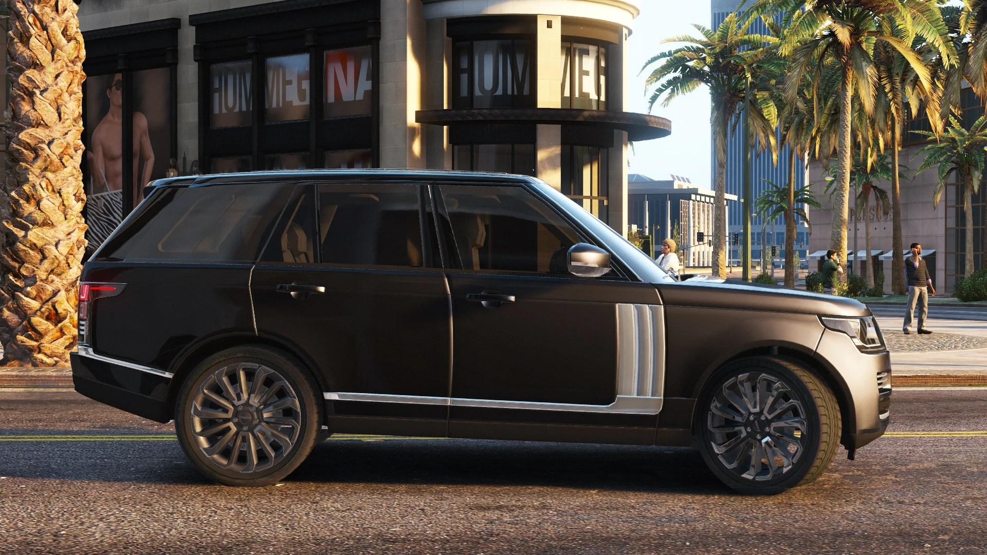 Wallpaper Mobil Sport 3d 2013 Range Rover Vogue Gta5 Mods Com