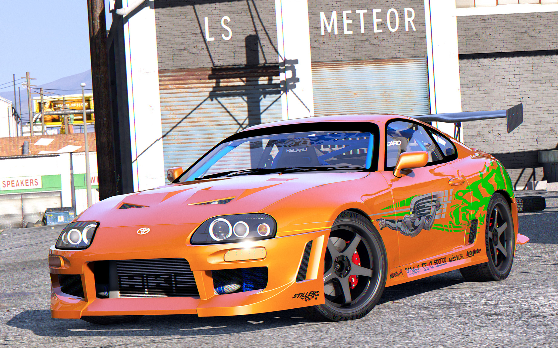 Toyota Supra From The Fast And The Furious Brian O Conner Toyota Supra Fast Furious Gta5 Mods