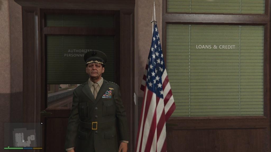 US Marine Corp Officer - GTA5-Mods
