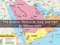 The Arabian Peninsula, Iraq, and Iran- Addison by