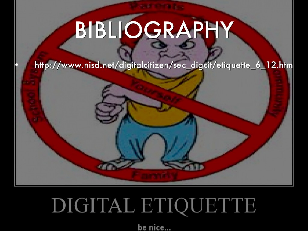 bibliography outline