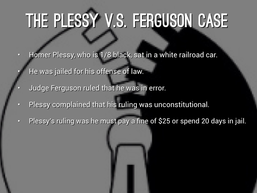 Fullsize Of Why Was Homer Plessy Arrested