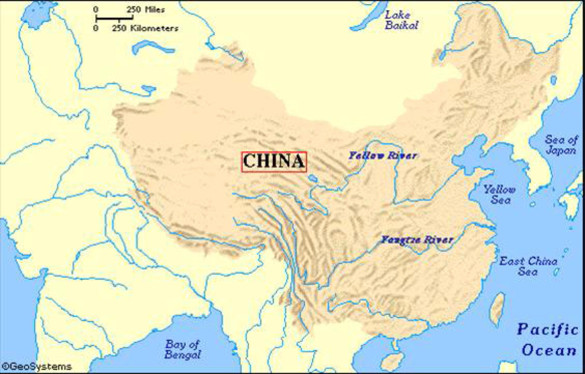 Chinese Geography Ancient China By Arianna Schifman