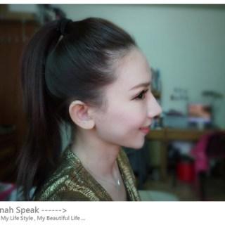 [頭髮]給我一個乾淨清爽的韓國女孩俐落馬尾!!!