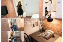 [穿搭]闖進雀客飯店,A dress a day讓我從頭到腳充滿貴氣!!!