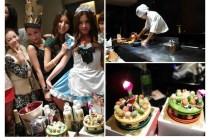 [生活]品嚐極品料理大葉鐵板燒 + 1月份G寶貝生日慶!!!