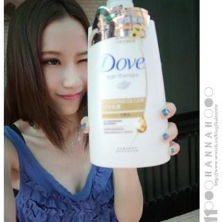[頭髮]歐兜邁女孩風吹日曬的毛燥糾結頭髮請交給DOVE!!