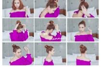 [頭髮]簡單五步驟,短髮女孩也可以擁有all back的春天!!!!