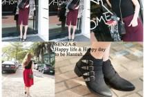 [穿搭]完美的天氣,穿著完美的Senza.s衣服,真是好享受 : )