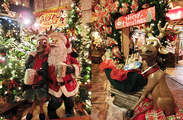日本沖繩美國村》充滿聖誕節氣氛 Merry Christmas
