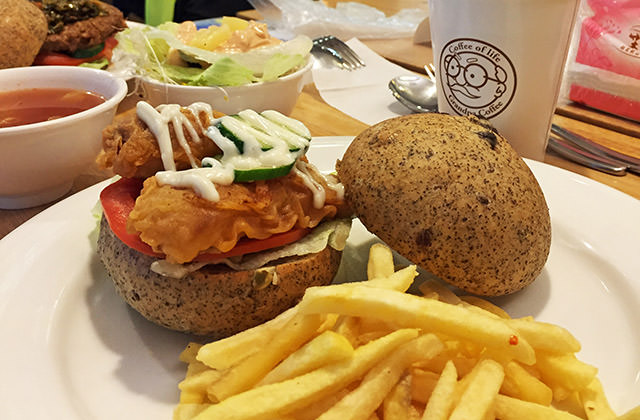 [台北] VeGeter維珍特|讓人興奮的素食界麥當勞 現身台北 (此文松創店已歇業