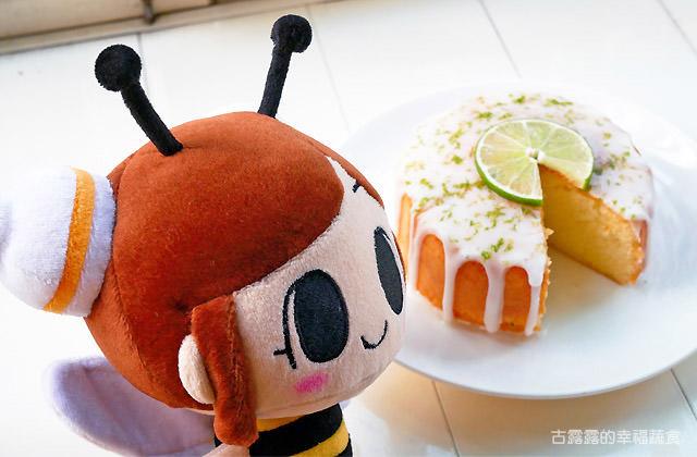 露露日常料理 ▌酸甜又淘氣的 檸檬糖霜蛋糕|奶蛋素甜點|漫畫料理