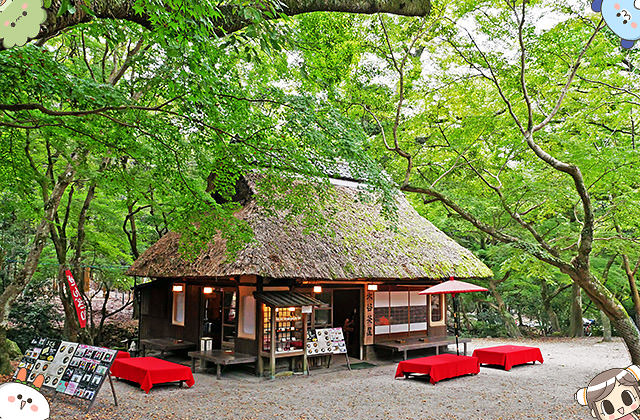 [日本奈良] 水谷茶屋 – 茅草屋頂的甜點茶屋|春日大社 若草山 奈良公園散步