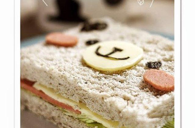 【烹飪實驗室】可愛到破表!小熊三明治