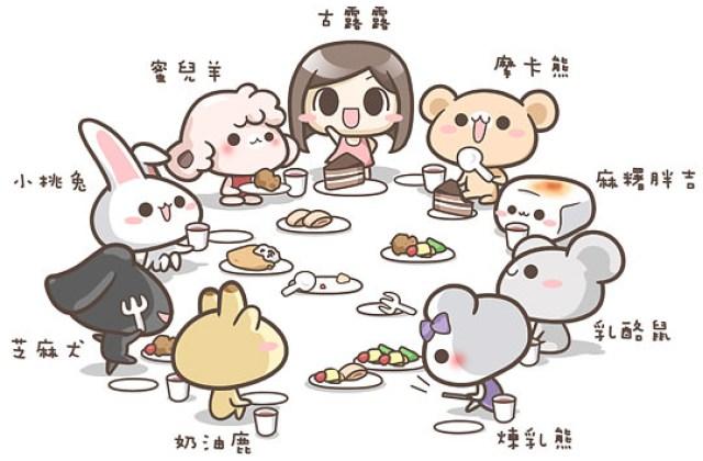 【古露露家族】美食特派員與料理小幫手~成員介紹 ♥♥♥ 2012.10.31更新