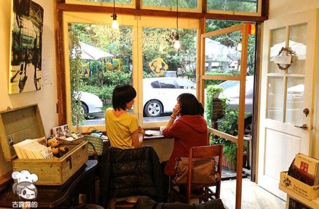 【台北】「兔子在公園咖啡館」拿鐵.司康(葷素.已歇業
