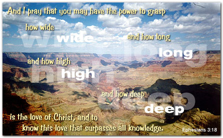 Deep Quotes About Life Wallpaper Ephesians 3 18 Illustrated Quot Just How Much Quot Heartlight