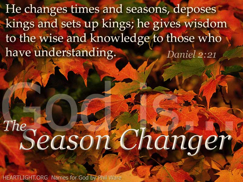 The Season Change\