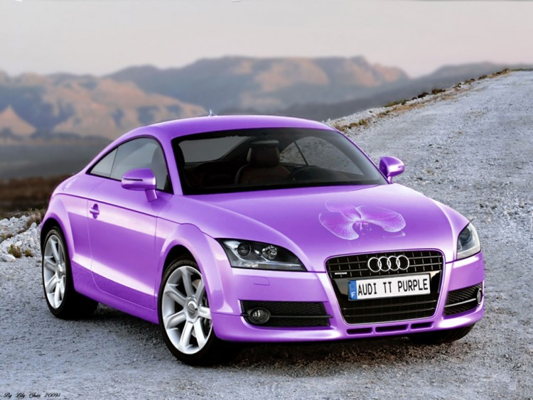 Lowrider Wallpaper Iphone Wallpapers Cars Gt Wallpapers Audi Audi Tt 233 Dition Purple