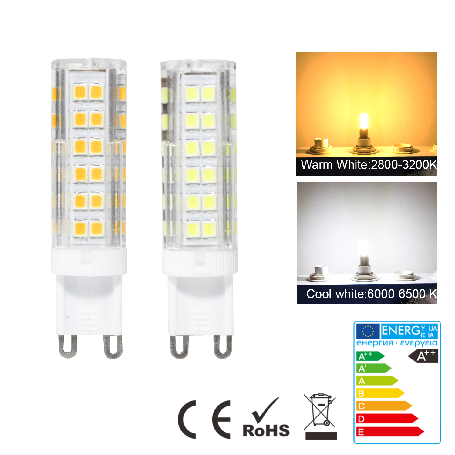 Led Birnen G4 Led G4 G9 E14 Light Bulb Gu5 3 Capsule Lamp Replace