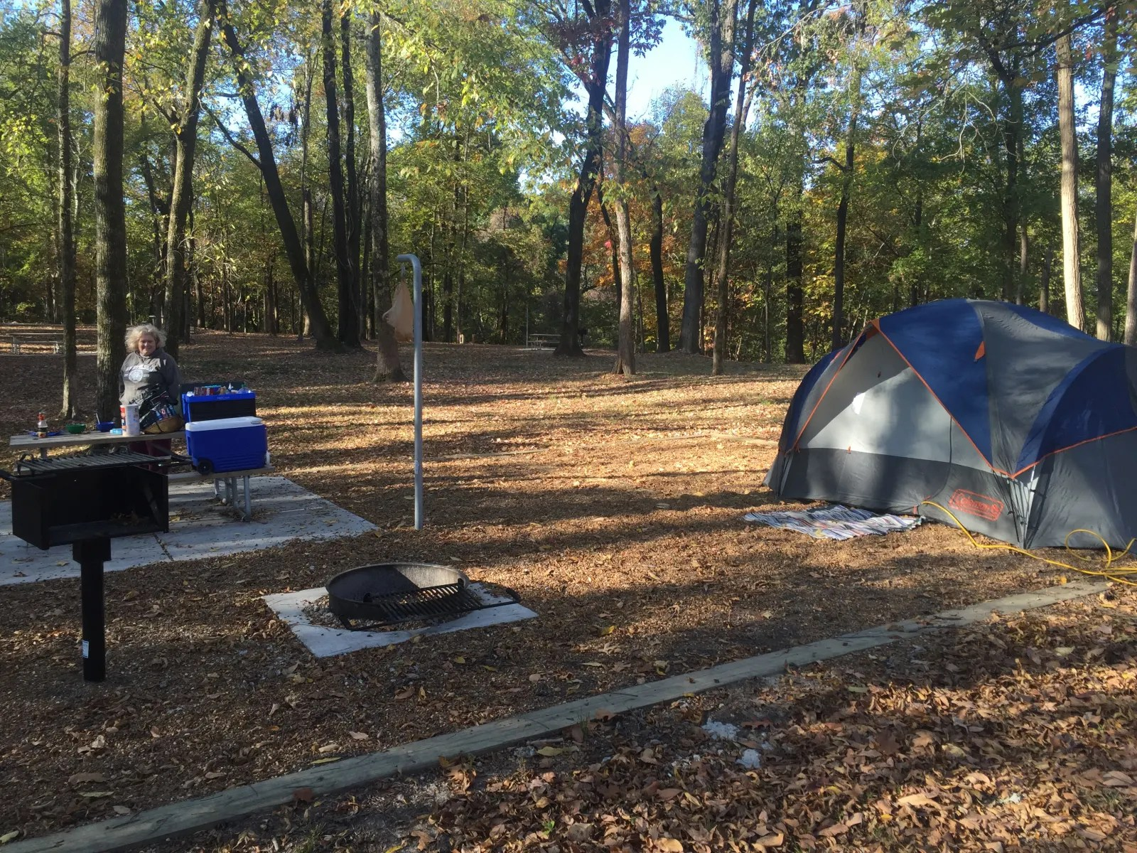 Fort Pillow State Park camping