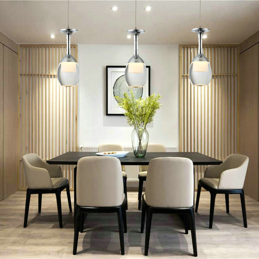 Ceiling Lights 3w Led Cup Chandelier Light Wineglass Pendant Lamp For Living Room Bar Saloon Dining Room Lighting Ideas Dining Room Lighting Ideas Living Room Bedroom Lighting Fate To Love