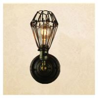 Metal Wall Lamp DIY Shade