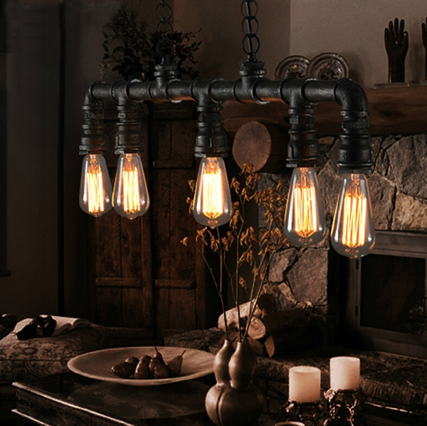 Badezimmer Lampe Industrial Top Sellers - (in Stock)pendelleuchte Wasserrohr Design