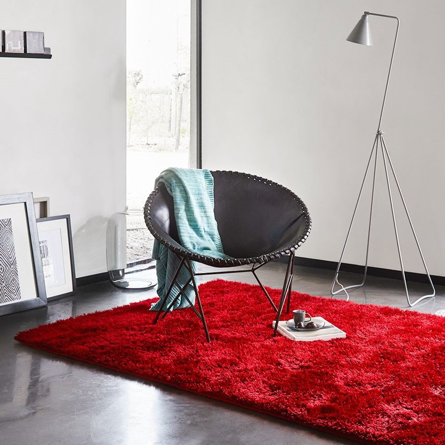 Tappeto Esprit Home Tappeto New Glamour Esprit Home Rosso
