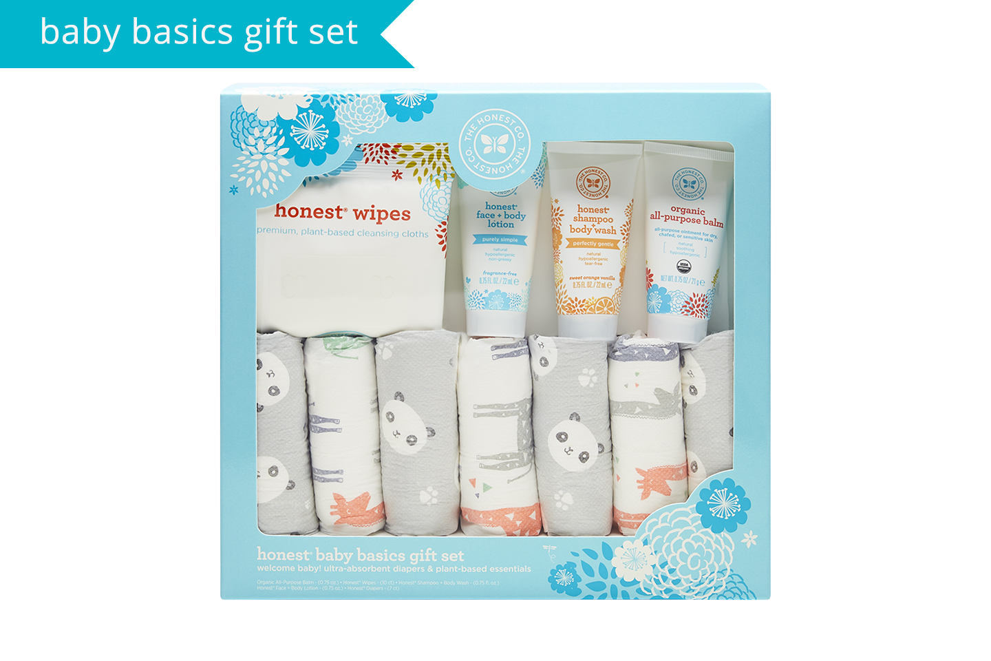 Baby Essentials Gift Set The Honest Company