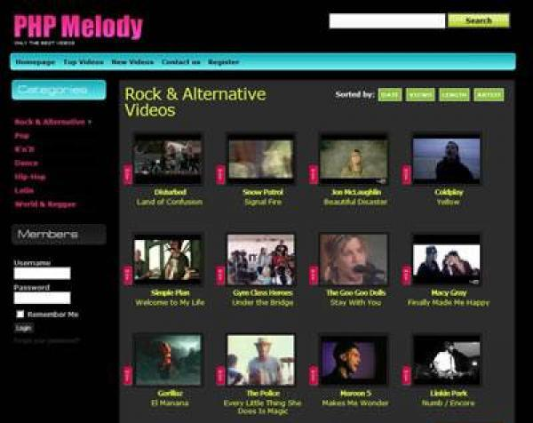 Dynamic PHP MELODY Template_Templates_wwwhosting22_Discuz - php templates