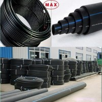 PE100 High Density polyethylene HDPE Pipe for water supply ...