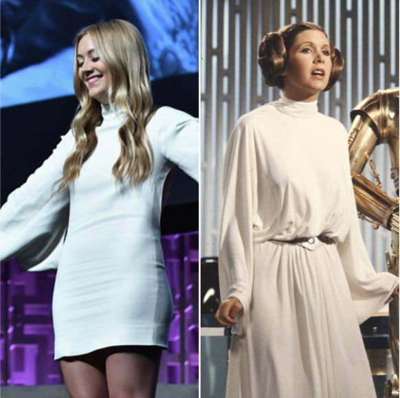 watch george lucas billie lourd honor smart bold carrie fisher 1