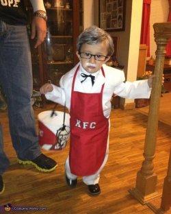 Small Of Colonel Sanders Costume