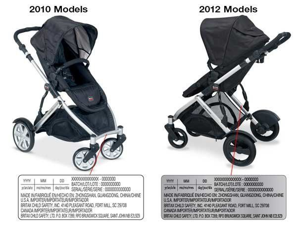 Britax Car Seat Date Of Manufacture Britax Issues Recalls For Strollers And Infant Car Seats